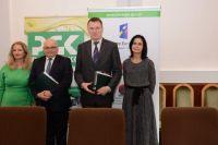 Podpisanie umowy o dofinansowanie w siedzibie NFOŚiGW